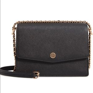 Tory Burch Robinson leather convertible